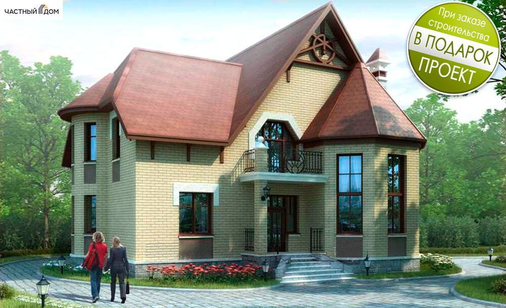 Проект дома 25K