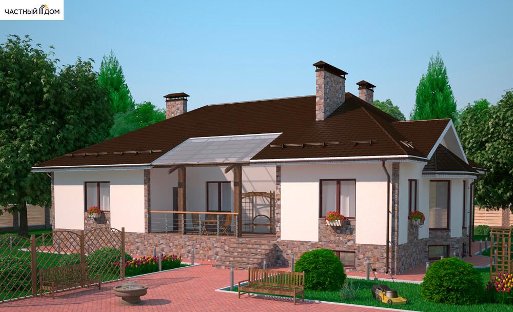 Проект дома 054-12