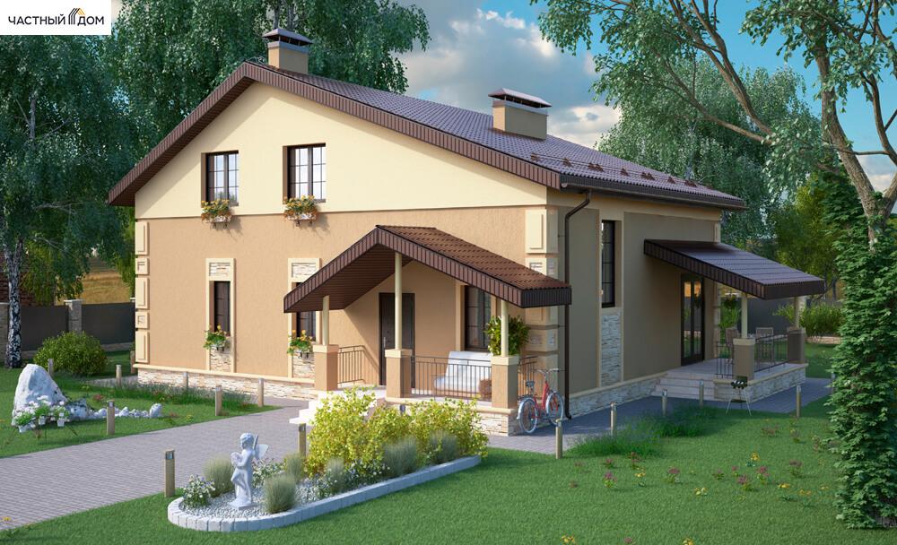 Проект дома 060-14