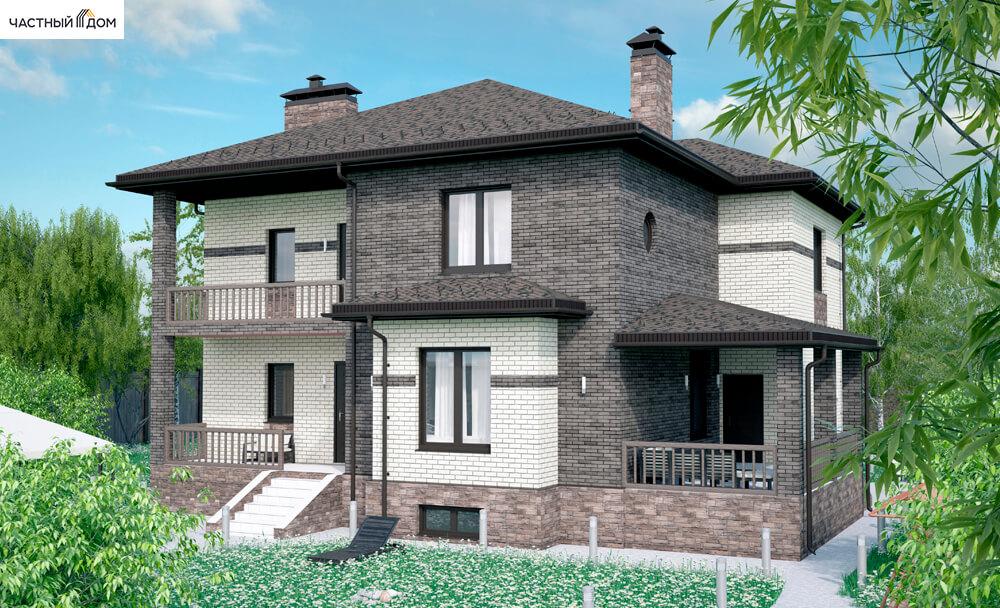 Проект дома 068-16