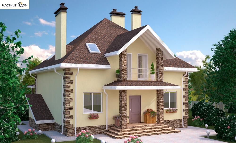 Проект дома 078-15