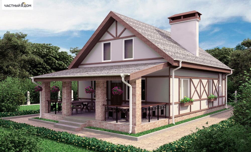 Проект дома 021-12