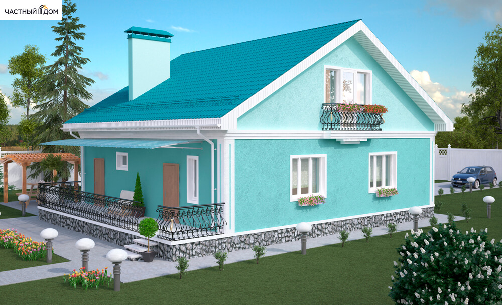 Проект дома 019-13
