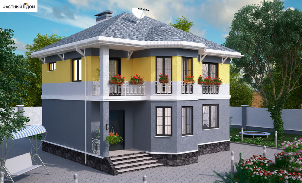 Проект дома 059-12