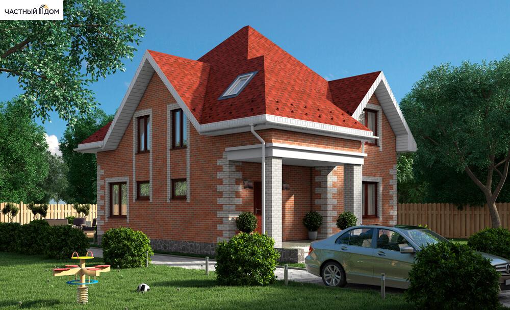 Проект дома 061-12