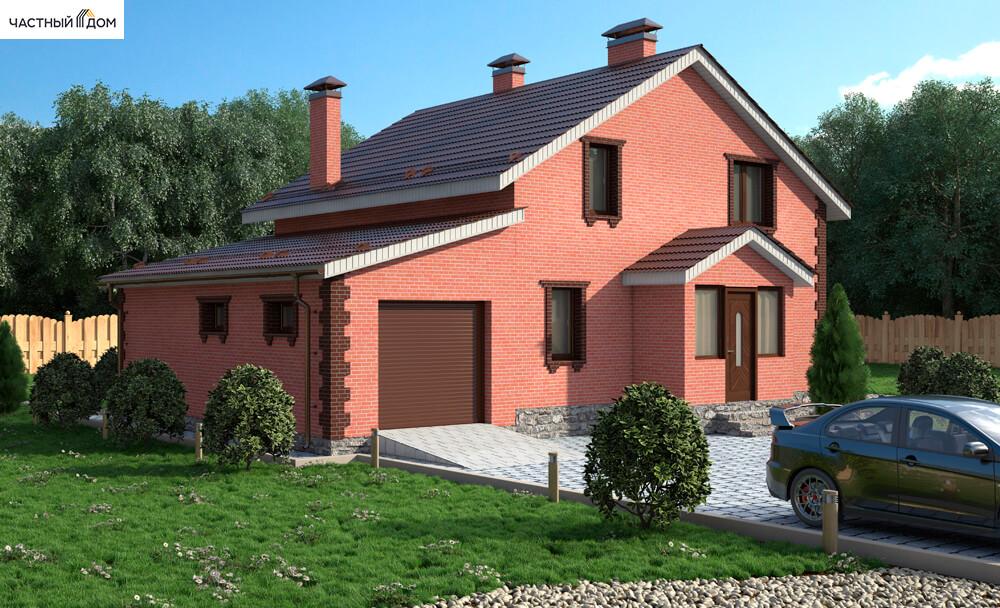 Проект дома 064-13