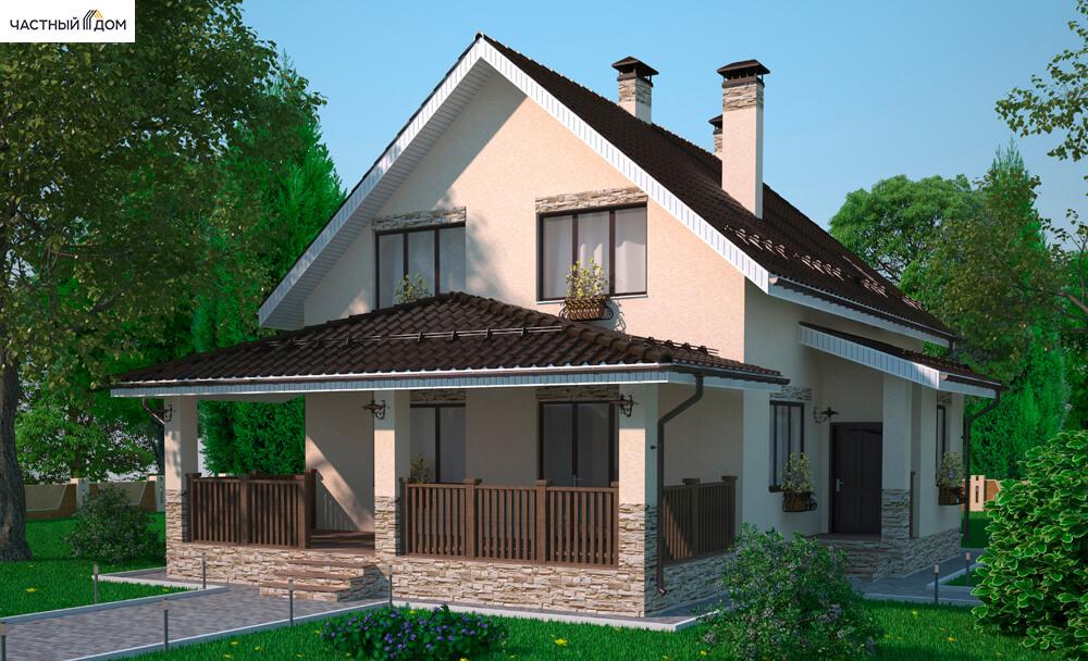 Проект дома 099-13