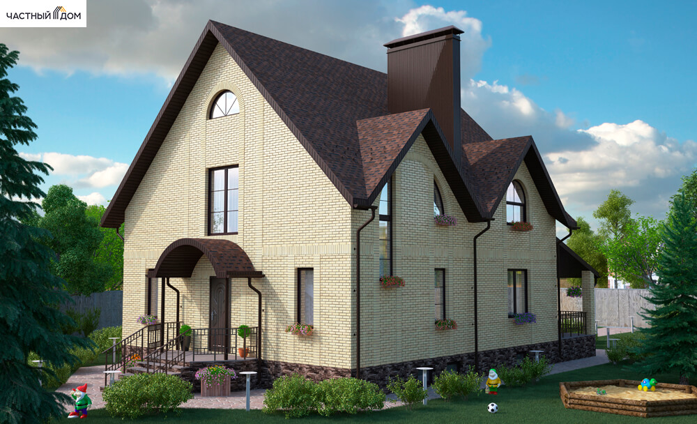Проект дома 010-15