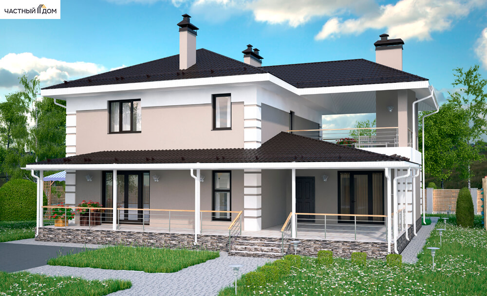 Проект дома 024-16
