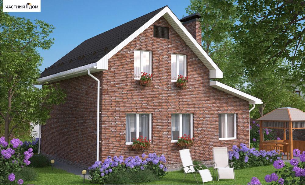 Проект дома 001-10