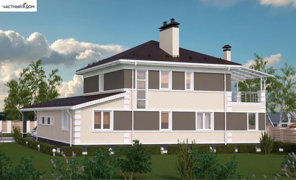 Проект дома 043-16