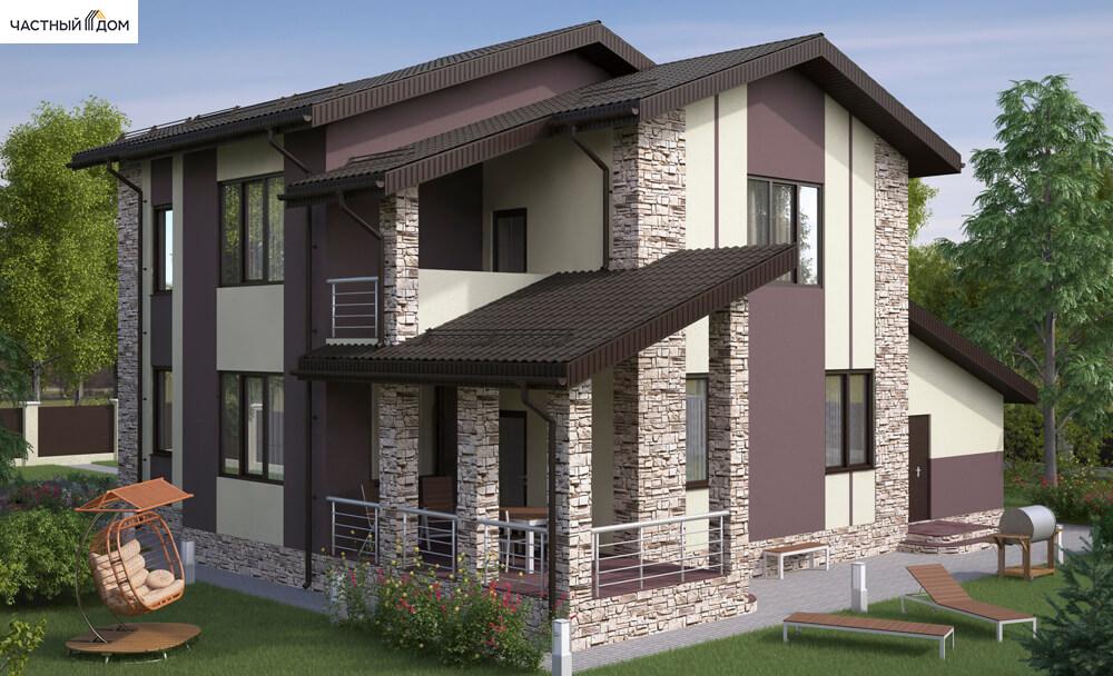 Проект дома 056-15