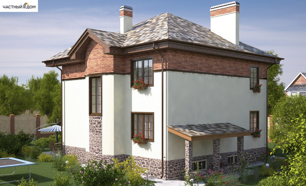 Проект дома 058-12