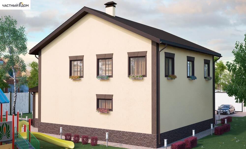 Проект дома 074-14