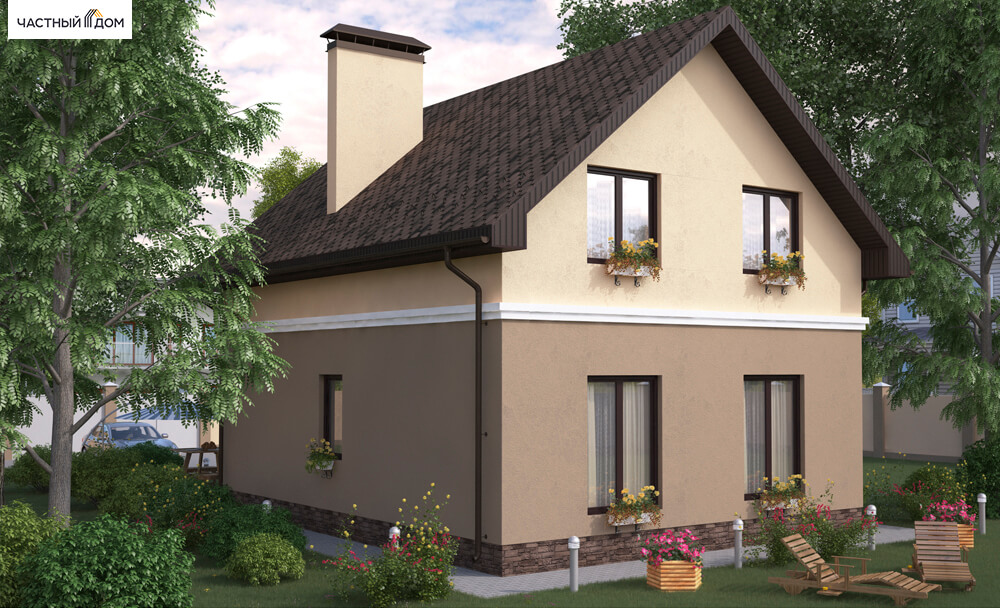 Проект дома 025-15