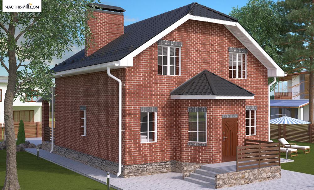 Проект дома 026-16
