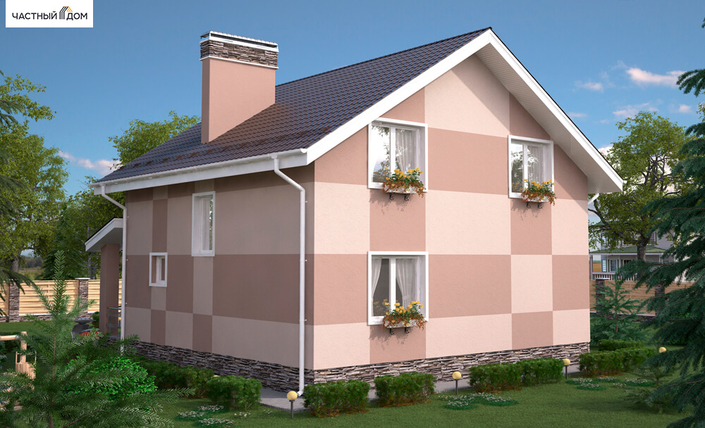 Проект дома 027-14