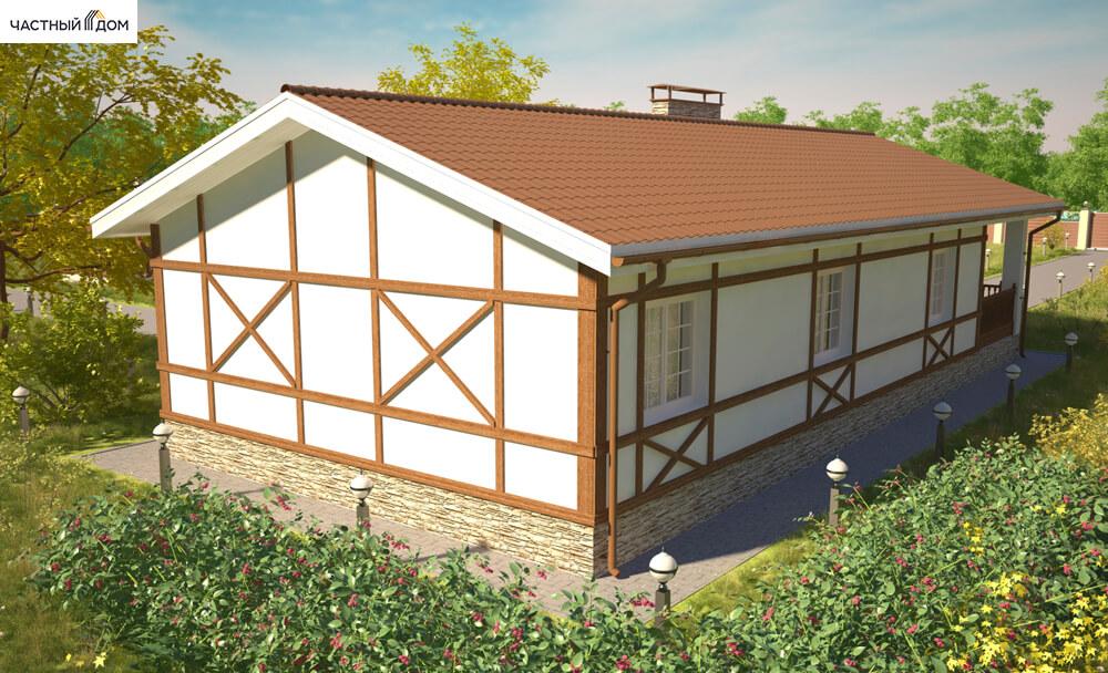 Проект дома 036-14