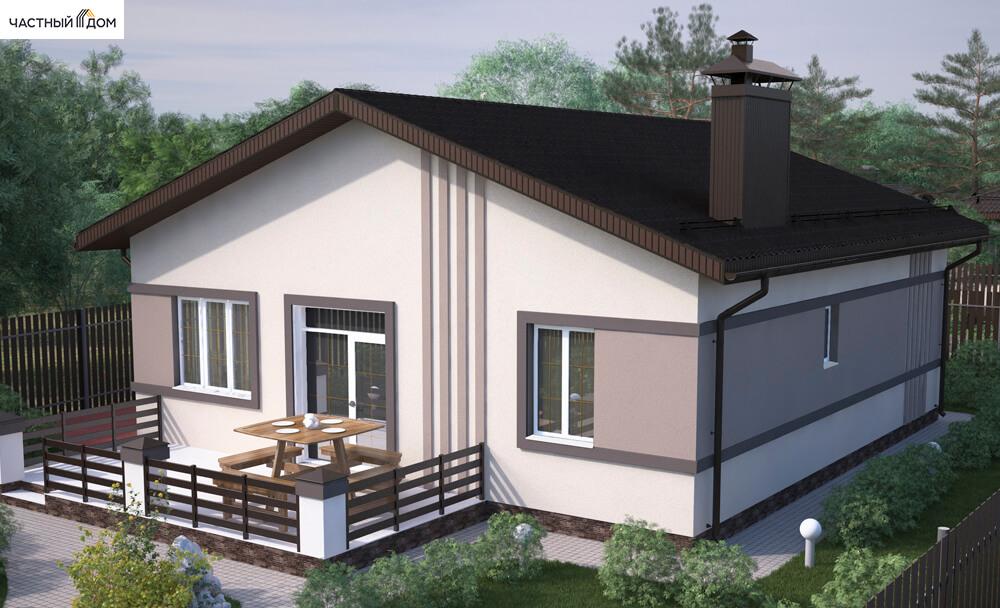 Проект дома 076-15