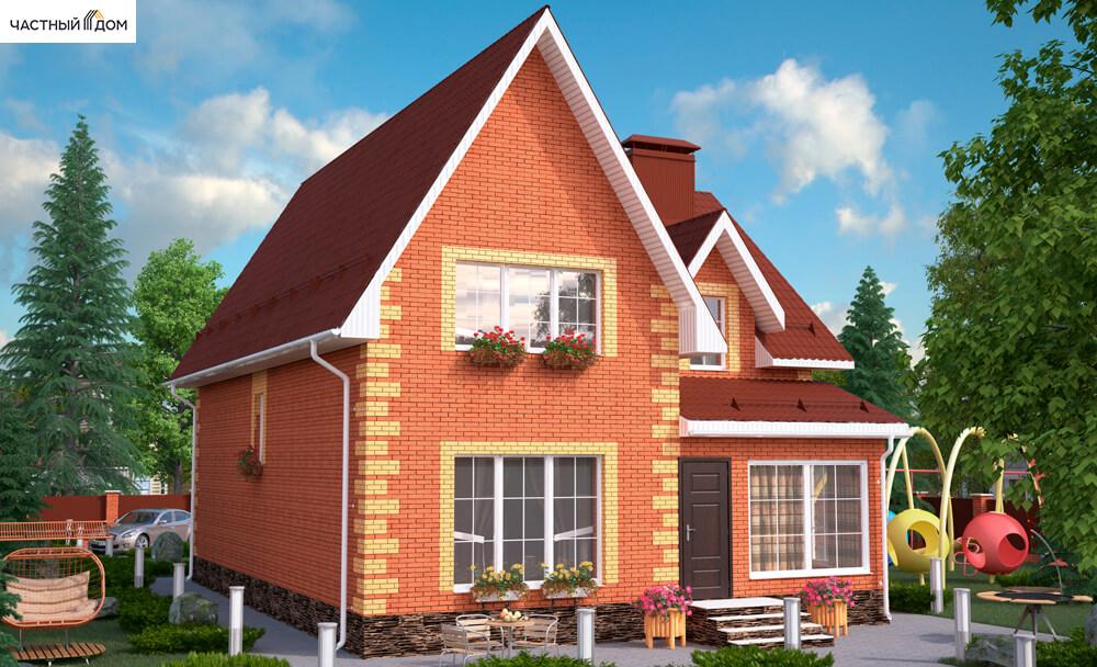 Проект дома 011-15