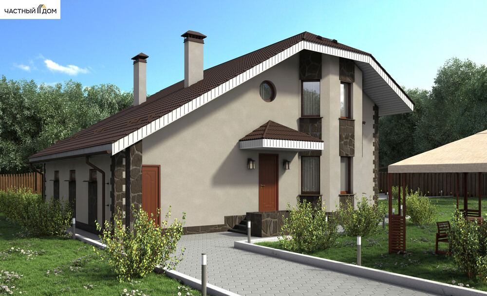 Проект дома 045-13