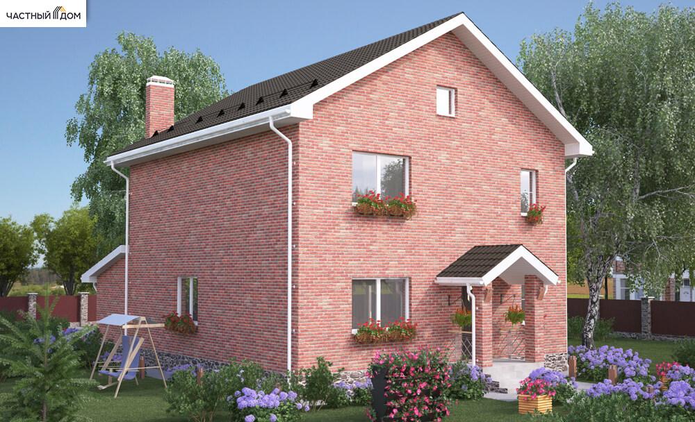Проект дома 056-14