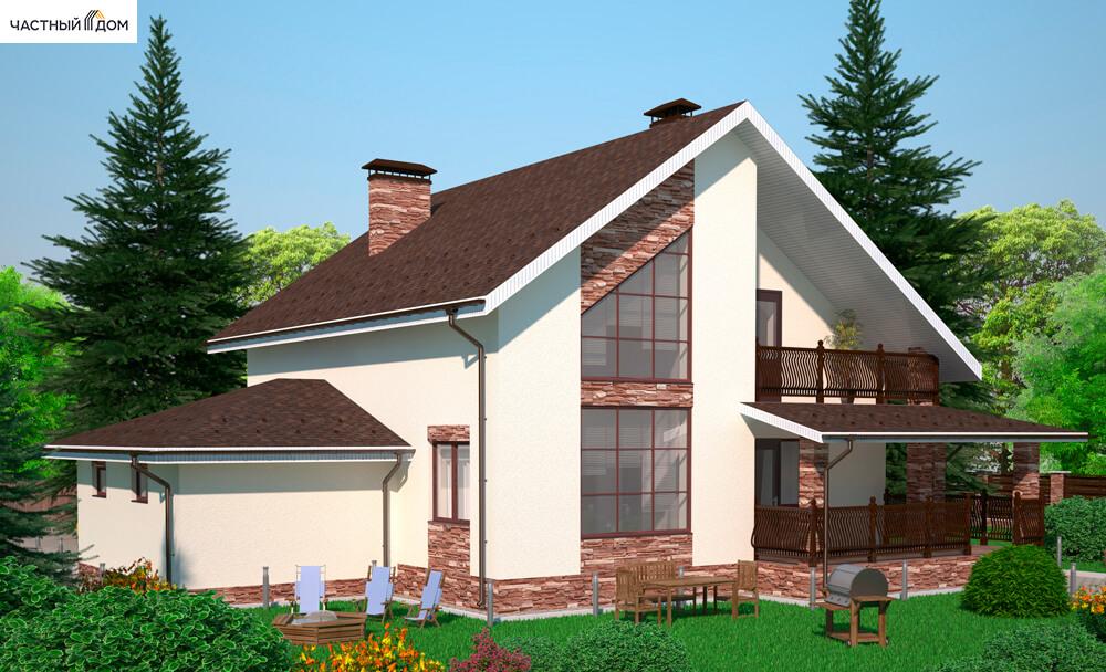 Проект дома 057-12