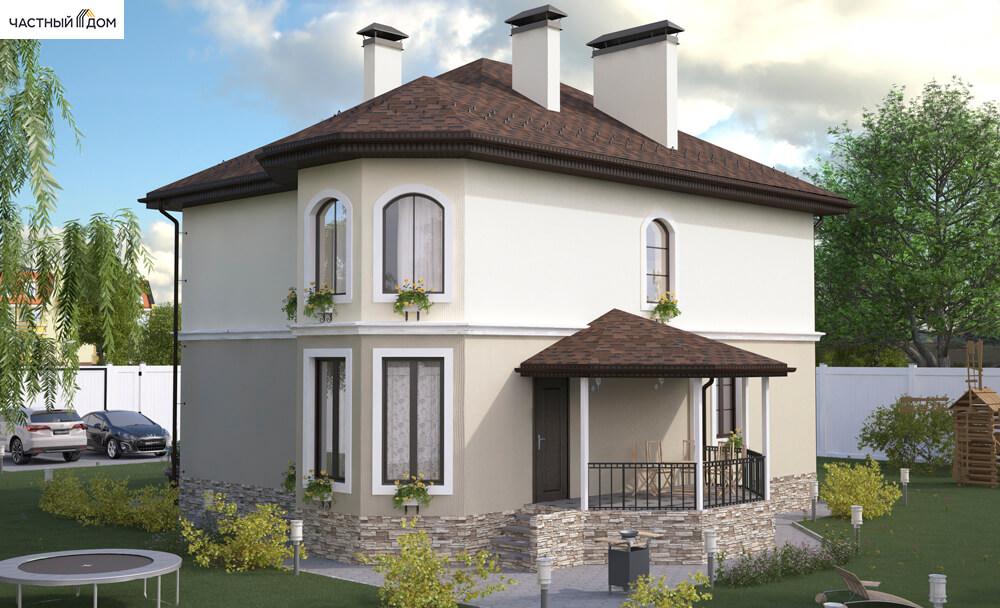 Проект дома 068-14