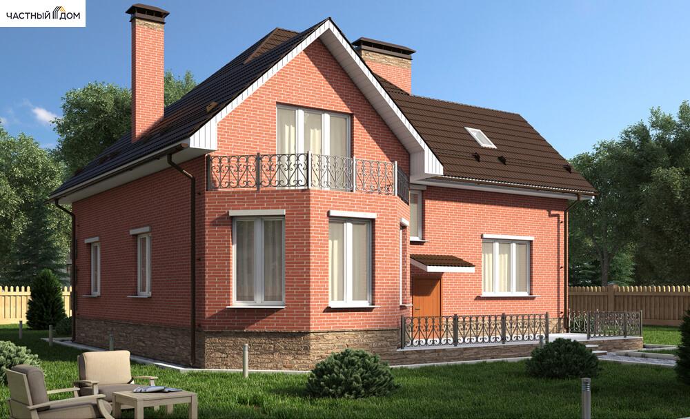 Проект дома 095-13
