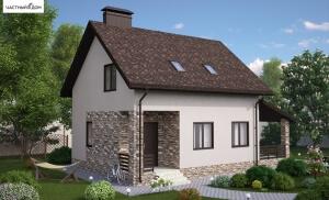 Проект дома 001-16