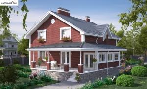 Проект дома 043-14