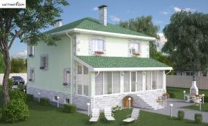 Проект дома 070-14