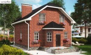 Проект дома 052-13