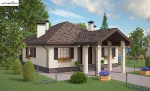 Проект дома 066-14