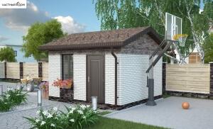 Проект гаража 015/2-13