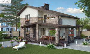 Проект дома 007-13