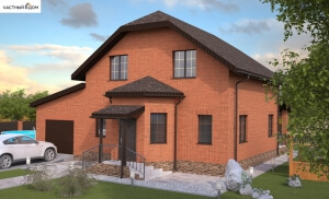 Проект дома 015-16