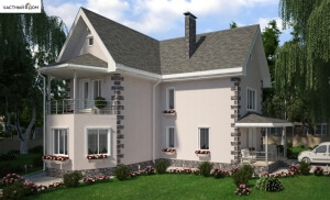 Проект дома 036-12
