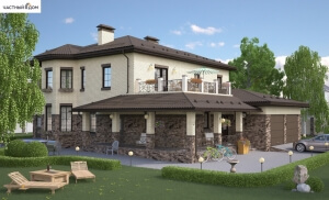 Проект дома 004-15