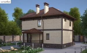 Проект дома 051-14