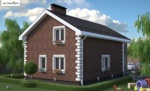 Проект дома 010-11