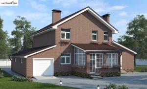 Проект дома 018-12